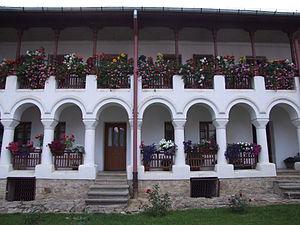 Monastery of Agapia in Romania