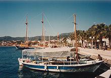 Yachten aus Holz sind Tradition in Marmaris