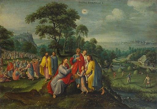 Marten van Valckenborch - Feeding the Five Thousand (July)
