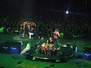 My daughter's camera. Metallica at the Forum i...