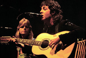 Paul_McCartney and Linda McCartney - Wings