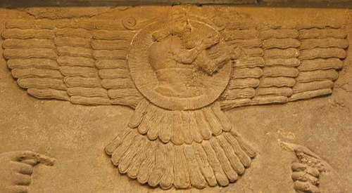 The Akkadian sun god, Shamash