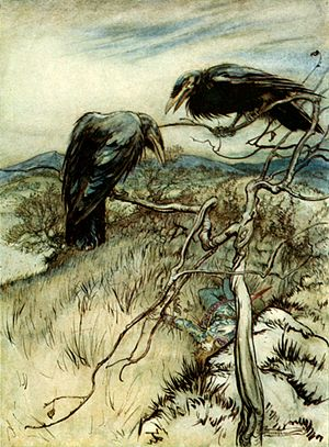 The Twa Corbies (or The Two Ravens)