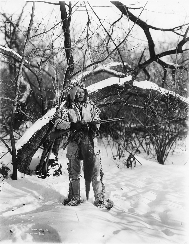 File The Old Trapper Roland W Reed 1908 Jpg Wikimedia Commons