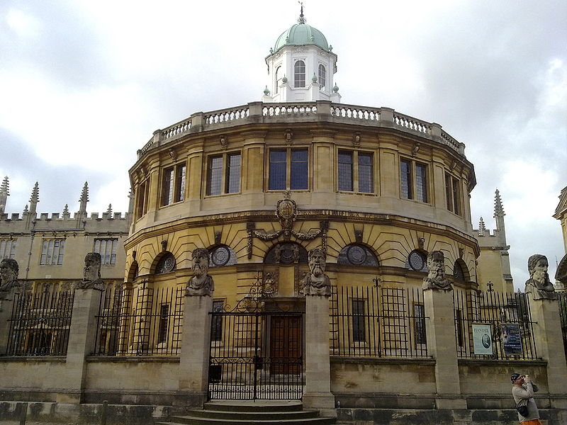 File:The Sheldonian from across Broad Street.jpg