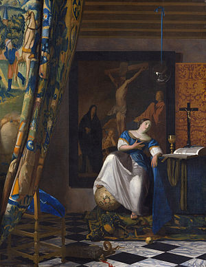 Vermeer The Allegory of the Faith