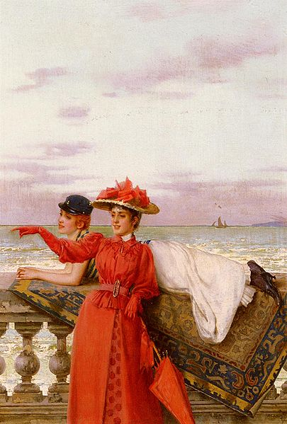 Файл:Vittorio Matteo Corcos - Looking Out To Sea.jpg