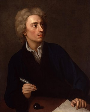 Alexander Pope (21 May 1688 – 30 May 1744) is ...