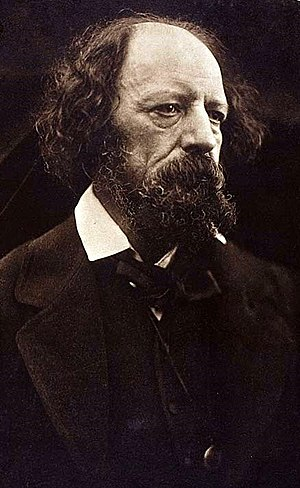 Carbon print of Alfred Lord Tennyson, 1869, pr...