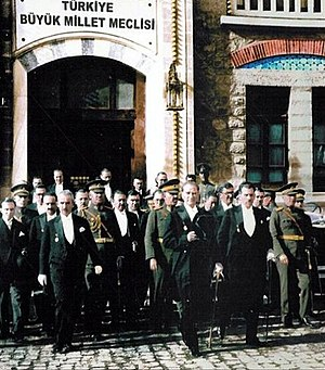 In 1930, leaving the parliament after the 7th-...