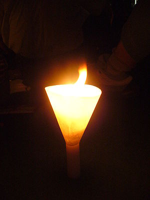 Candlelight Vigil in Hong Kong for the 18th An...