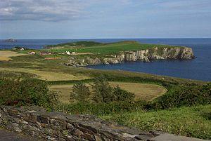 English: Coast near Castletownshend, County Co...