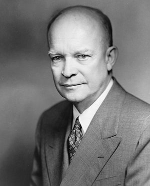 Dwight D. Eisenhower, President of the United ...