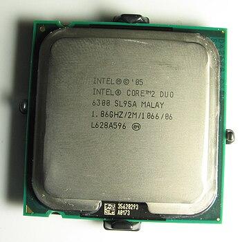 """An Intel Core 2 Duo E6300 """"Conroe"""" C..."""