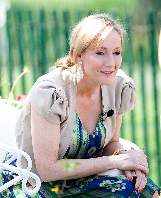 """J. K. Rowling 2010"" by Daniel Ogren. Licensed under CC BY 2.0 via Wikimedia Commons"