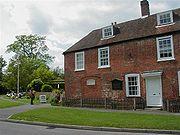 Het huis van Jane Austen (tegenwoordig is het een museum)