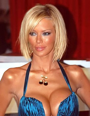 Jenna Jameson at the Adult Entertainment Expo ...