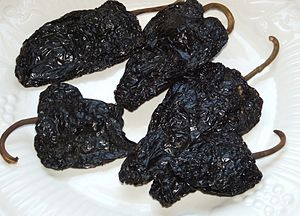 Mulato chile pods (dried)