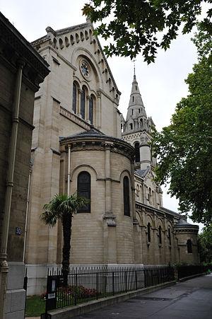 Français : Église Saint-Pierre, Neuilly-sur-Se...