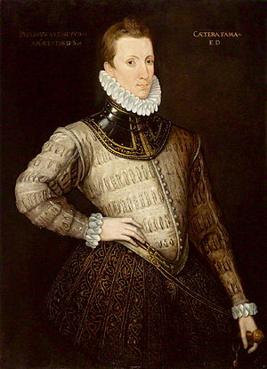 Posthumous portrait of Sir Philip Sidney, poss...