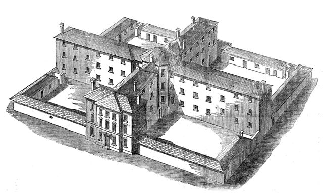 Picture of 19th century workhouse