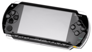English: A North American Sony PSP-1000 handhe...