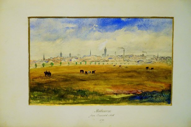 """State Library of Victoria - Joy of Museums - """"Melbourne from Emerald Hill"""" by Robert Russell"""