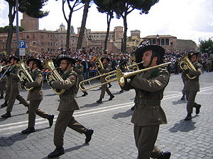 "Bersaglieri Marching Band; ""Aosta"" a..."