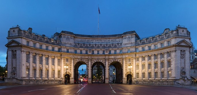 Admiralty Arch at Dusk, London, UK - Diliff