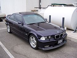 1996 BMW M3 coupe, North American version