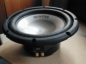 "12"" Endurance 2k car subwoofer."