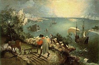Landskap Labirin dan Laut Jatuhnya Icarus