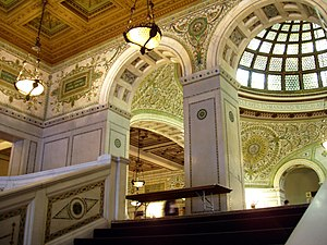 Chicago Cultural Center - Grand Staircase and ...