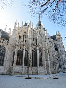Cath 233 Drale Notre Dame D 201 Vreux Wikip 233 Dia