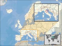 Vị trí của San Marino