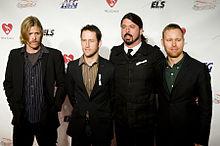 Foo Fighters kontzertuan 2007an.