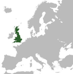 Territory of the Kingdom of Great Britain