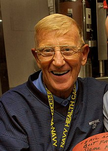 Lou Holtz confidence in sports