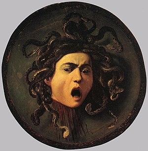 Michelangelo Merisi da Caravaggio - Medusa - W...