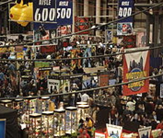 The Show Floor In 2007