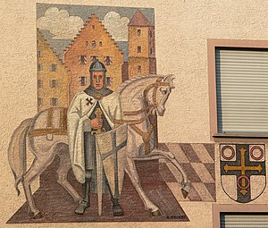 """Knight of the Order of Knighthood """"Deutsc..."""