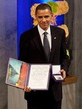 Image result for Nobel for Obama