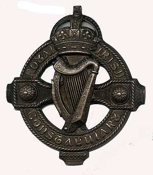 Badge from the tack used by the mounted divisi...