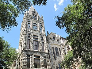 The Cullen Building at Southwestern University...