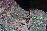 Hình vệ tinh của Đài Bắc