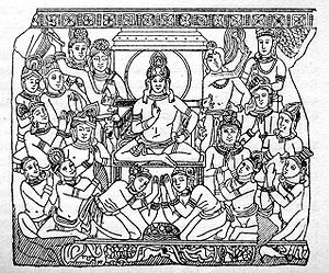 Sudhodanna And His Court