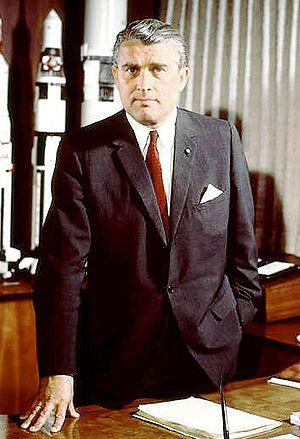 Dr. von Braun became Director of the NASA Mars...
