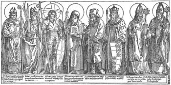 Albrecht Dürer - The Austrian Saints - WGA7194