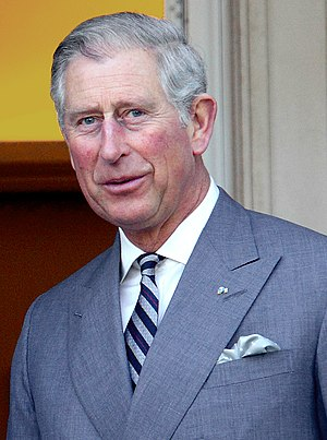 Charles, Prince of Wales, in a meeting with Jo...