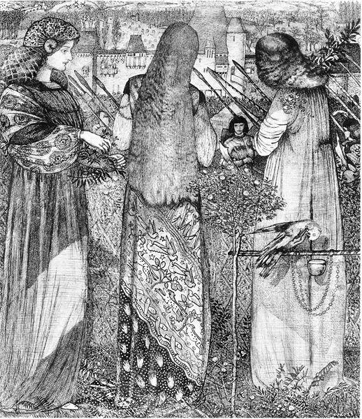 Edward Burne, Jones Going to the Battle